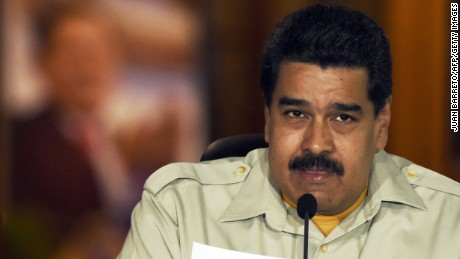 Maduro Claims Venezuela Has Detained Americans for 'Espionage'