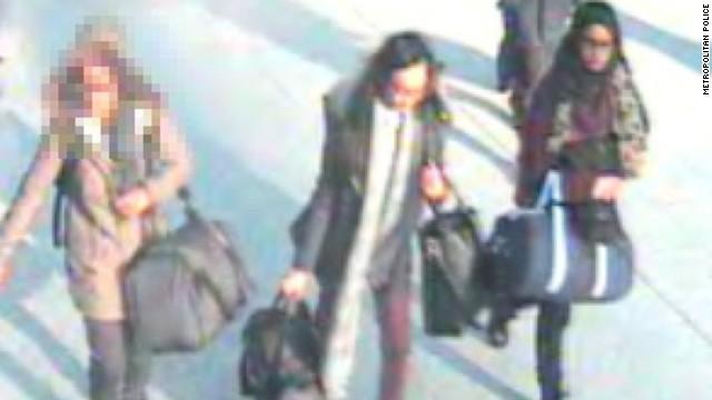 ¿Huyeron estas tres niñas británicas a Siria para unirse a ISIS?