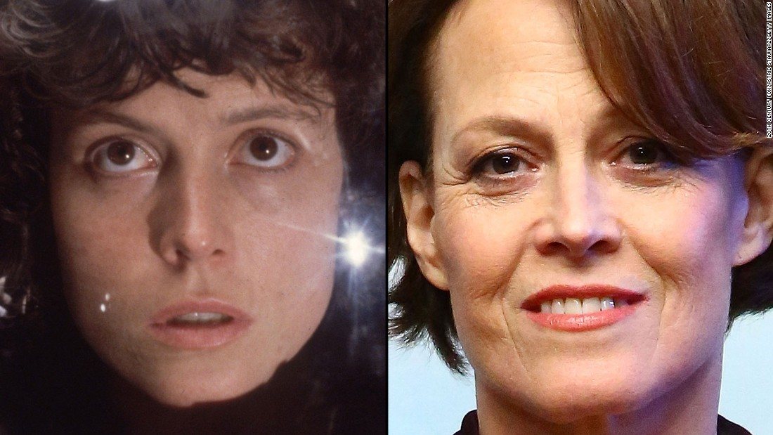 """The first """"Alien,"""" in 1979, made a star of Sigourney Weaver, whose Ripley character returned in three sequels. Since the last """"Alien"""" film in 1997 Weaver, now 65, has narrated the U.S. version of the documentary series """"Planet Earth"""" and reunited with """"Aliens"""" director James Cameron for 2009's """"Avatar."""""""