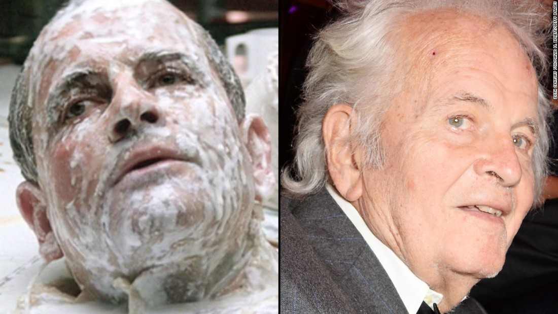 """British actor Ian Holm played Ash, the spaceship's science officer, who was revealed to be an android in the first film. Holm, 83, is probably best known for playing Bilbo Baggins in the """"Lord of the Rings"""" movies."""