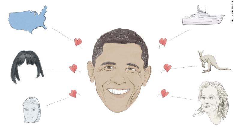 14 things President Obama loves