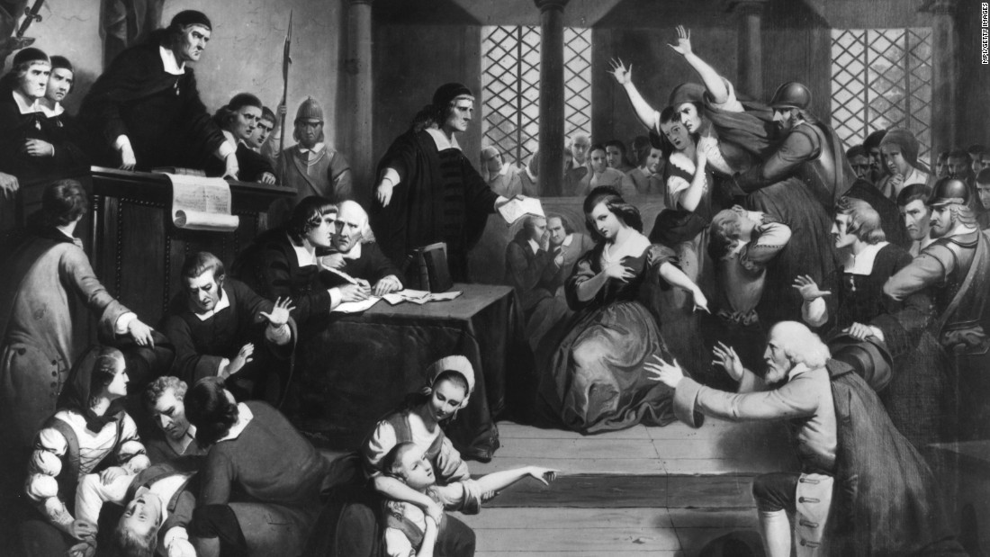 the death of innocent women during the witchcraft hysteria Salem witch trials, (june 1692–may 1693), in american history, a series of  on  june 2 bridget bishop—who had been accused and found innocent of witchery   in the shape of persons either living or dead, but by real men or women who.