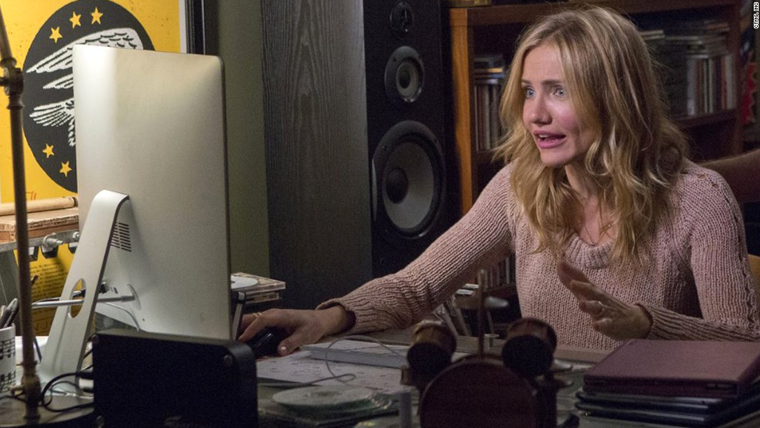 """Cameron Diaz's performances in """"Sex Tape,"""" pictured, and """"The Other Woman"""" secured her Razzie for worst actress."""