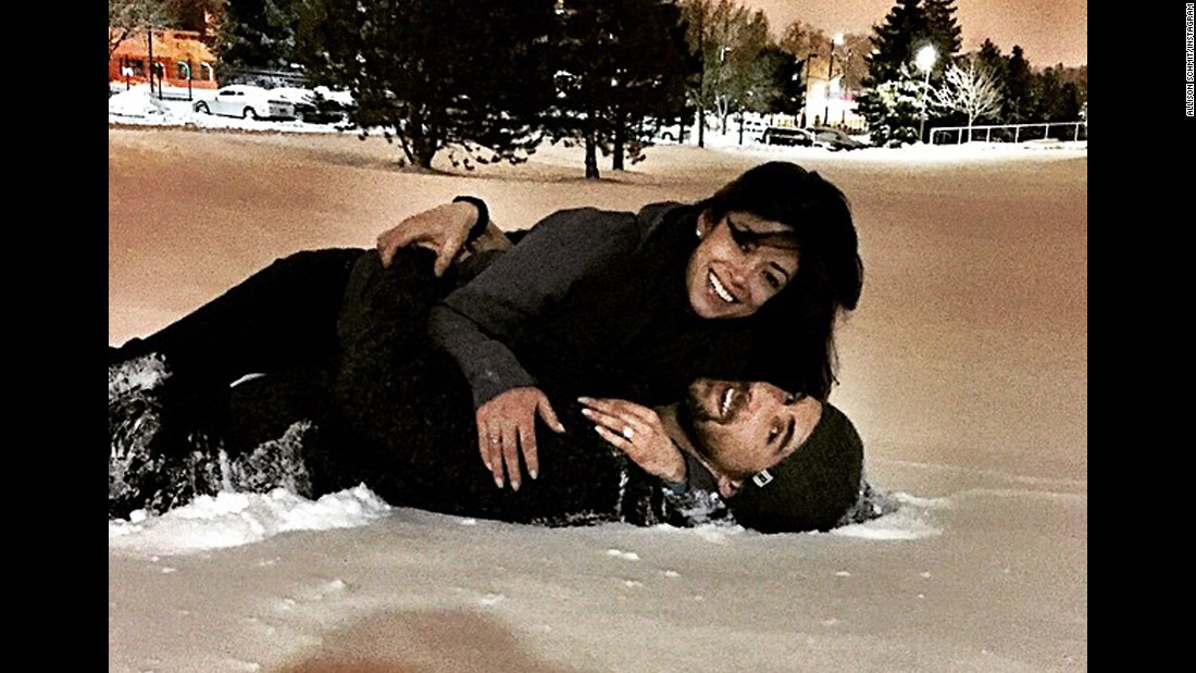 "Olympic swimmer Michael Phelps, seen here in 2010, proposed to girlfriend Nicole Johnson, according to their verified social media accounts. ""She said yes,"" he captioned a picture of him and Johnson <a href=""https://instagram.com/p/zZNwEhyx33/"" target=""_blank"">cuddling in the snow</a>."