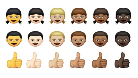 Apple is adding more diverse emoji characters in the next version of iOS.