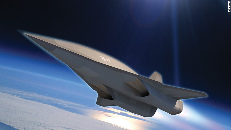 Lockheed Martin says it's developing a successor to the legendary supersonic SR-71 spy jet. They're calling it the SR-72.