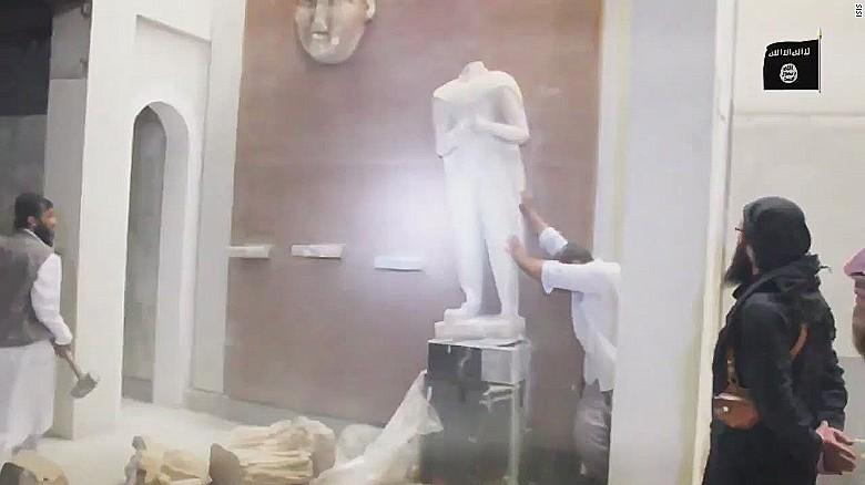 ISIS escalates cultural annihilation