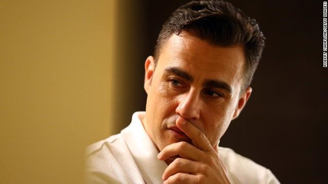 Fabio Cannavaro, a la cárcel... por tirarse a la piscina