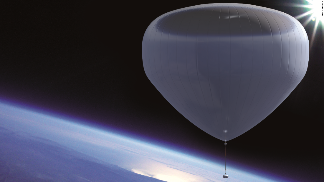 Balloons Could Be Your 75 000 Ticket To Space Cnn Com
