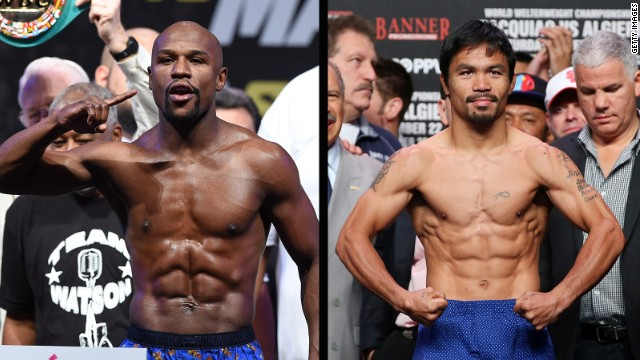 ¡Primer round! Floyd Mayweather y Manny Pacquiao se enfrentan en redes sociales