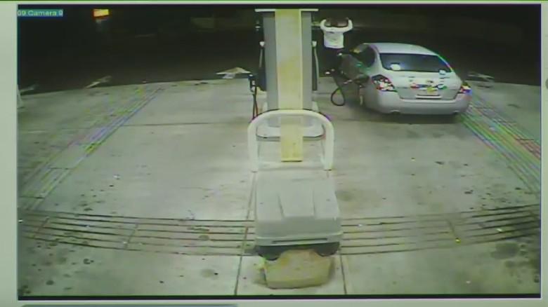 Aaron Hernandez on surveillance video shown in court