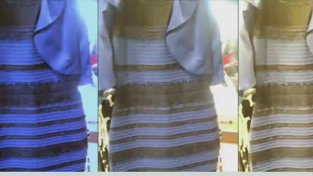 ¿Por qué tú lo ves dorado y blanco y yo, azul y negro?