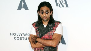 "Adi Shankar, the producer of ""Power/Rangers,"" attends a party in 2014."