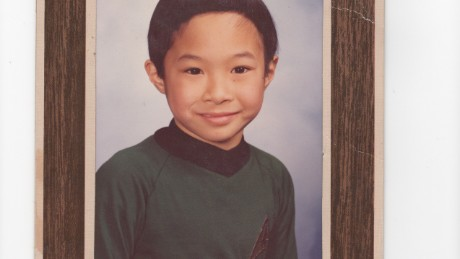Eric Liu, in first grade.