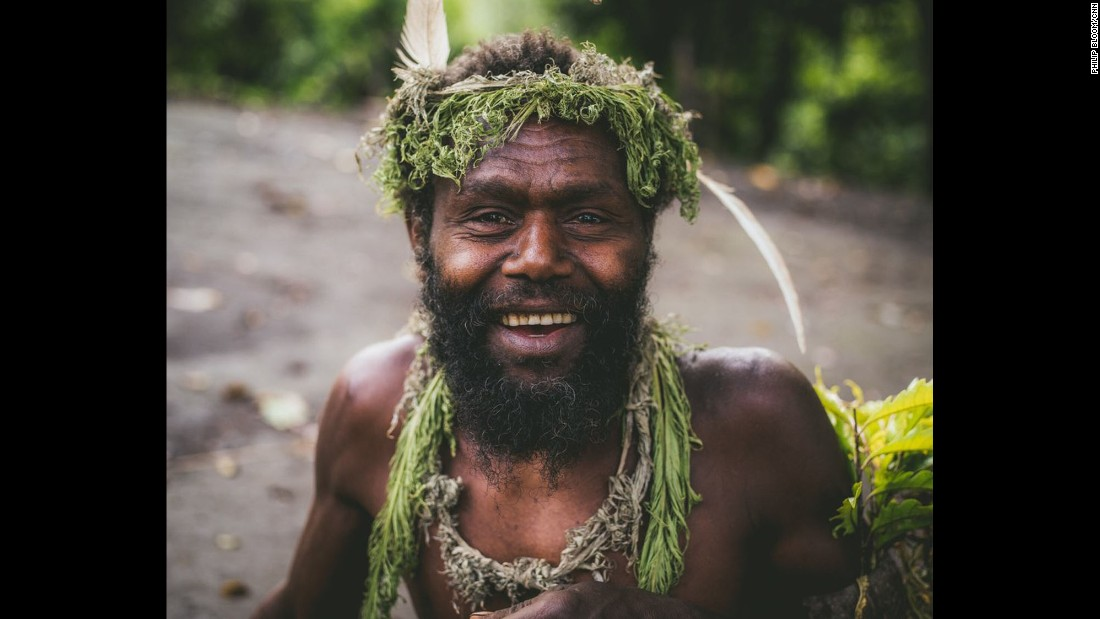 """VANUATU: Happy Man Albi is one of the elders tasked with keeping up the spirits of the Yakkel people in dark times on Tanna Island...Hence, the designation 'Happy Man'. Photo by CNN's Philip Bloom.<br />Follow <a href=""""http://instagram.com/philipbloom"""" target=""""_blank"""">@philipbloom</a> and other CNNers on the <a href=""""http://instagram.com/cnnscenes"""" target=""""_blank"""">@cnnscenes</a> gallery on Instagram for more images you don't always see on news reports from our teams around the world."""