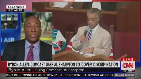 Lawsuit accuses Al Sharpton of discriminating against black-owned media _00014410