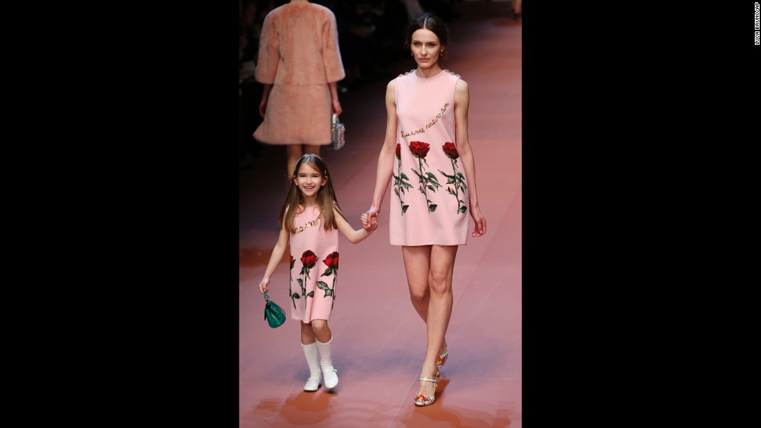 Dolce & Gabbana celebrates motherhood in Milan - CNN.com