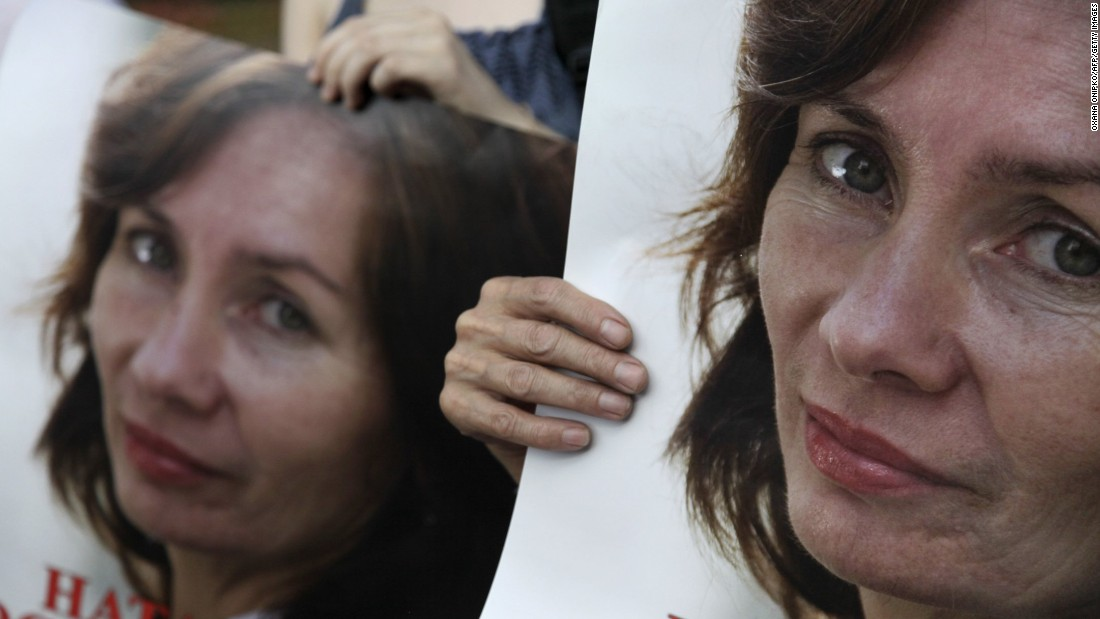 Human rights activist Natalya Estemirova was kidnapped outside her Chechnya home in July 2009 and was found dead later the same day. The head of the group Estemirova worked for, Memorial, accused the Kremlin-backed Chechen leadership of ordering her killing.