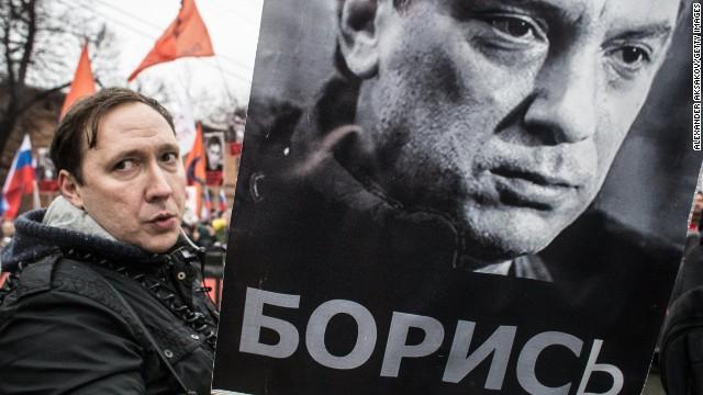 Cuatro detenidos por la muerte del opositor ruso, Boris Nemtsov
