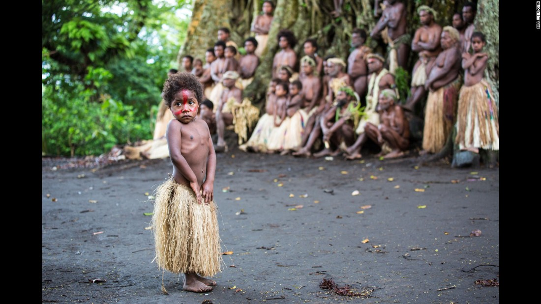 "VANUATU: A little girl takes the spotlight as local villagers gather with their chief, near a giant banyan tree in Yakel Village on Tanna Island. Photo by CNN's Bill Weir.<br />Follow <a href=""http://instagram.com/billweircnn"" target=""_blank"">@billweircnn</a> and other CNNers on the <a href=""http://instagram.com/cnnscenes"" target=""_blank"">@cnnscenes</a> gallery on Instagram for more images you don't always see on news reports from our teams around the world."