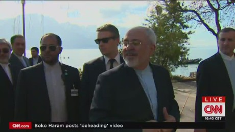 Iranian foreign minister on Netanyahu speech_00003826
