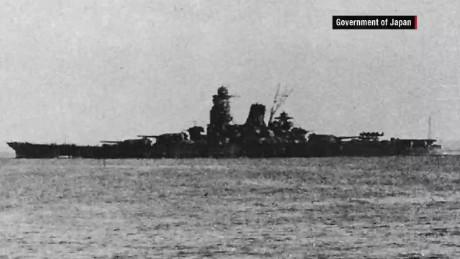 WWII Japanese battleship Musashi discovered...