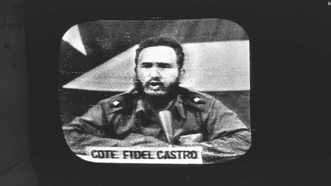 Castro replies to a U.S. naval blockade on October 23, 1962.