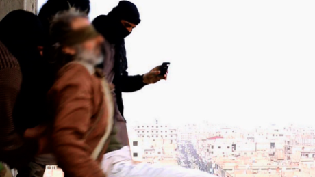 ISIS throws gay men off buildings