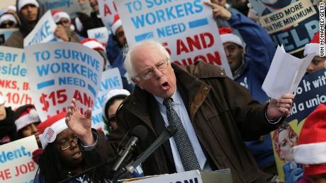 Sen. Sanders talks trade deals