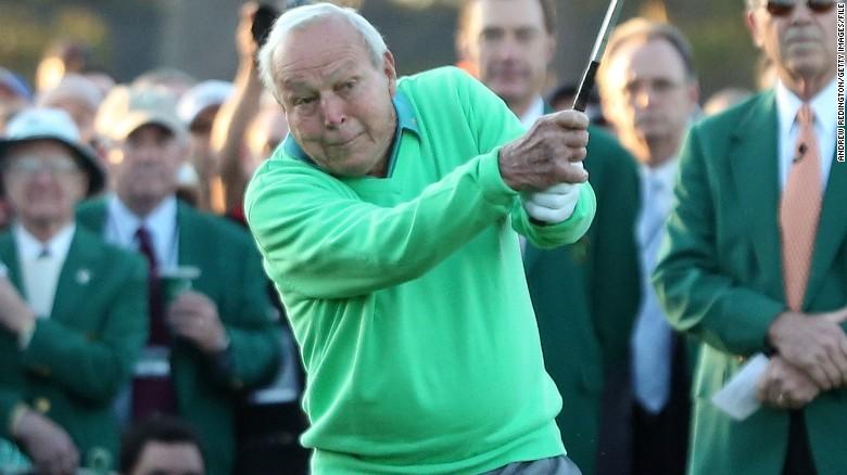 Arnold Palmer: una lesión no me impedirá que participe en el Masters