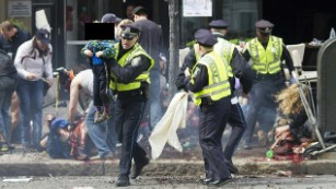 Boston Marathon bombing evidence