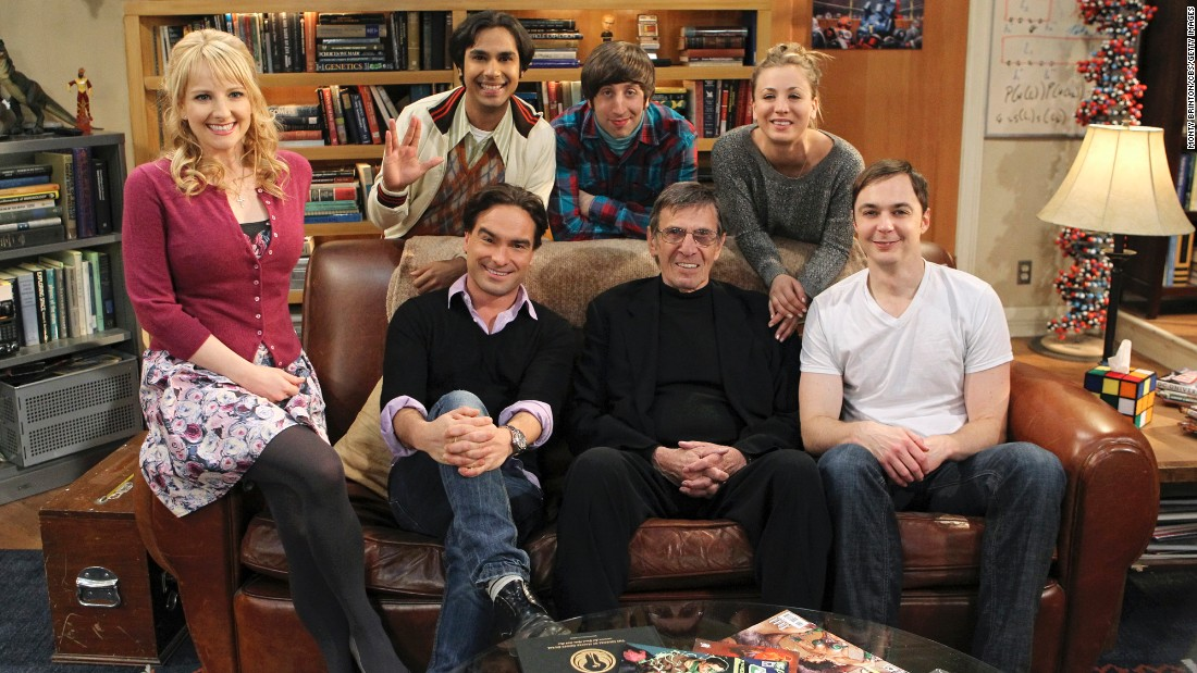 "The hit TV series ""The Big Bang Theory"" paid tribute to the late Leonard Nimoy in a recent episode. The ""Star Trek"" legend, center, once provided the voice for a Mr. Spock action figure on the show. Here's a look at who's who in the cast."