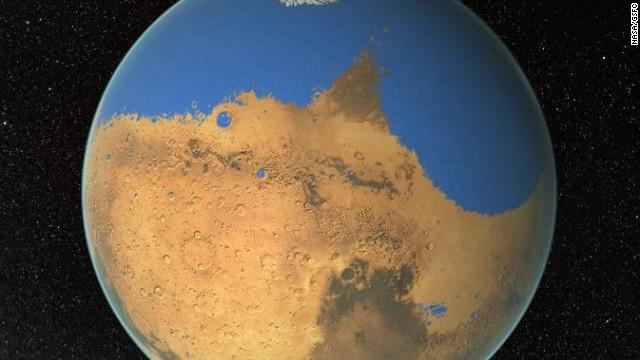 NASA: Marte pudo tener un océano como el Atlántico de la Tierra