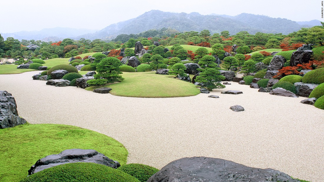 "The Adachi gardens, a part of Adachi Museum of Art, are said to be a ""living Japanese painting"" and one of the most beautiful gardens in Japan. <br />Adachi Zenko founded the museum in 1980 to combine his passion for Japanese art and gardening.<br /><em><a href=""https://www.adachi-museum.or.jp/en"" target=""_blank"">Adachi Museum of Art<em></a></em>, 320 Furukawa-cho, Yasugi, Shimane</em><em>, Japan</em><em>; +81 0854 28 7111</em>"