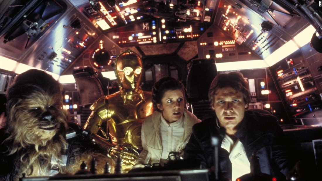 """Ford became a worldwide star after appearing as Han Solo in the original """"Star Wars"""" trilogy."""