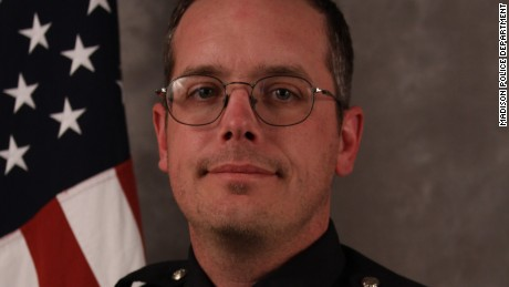 Matt Kenny of the Madison, Wisconsin, Police Department.
