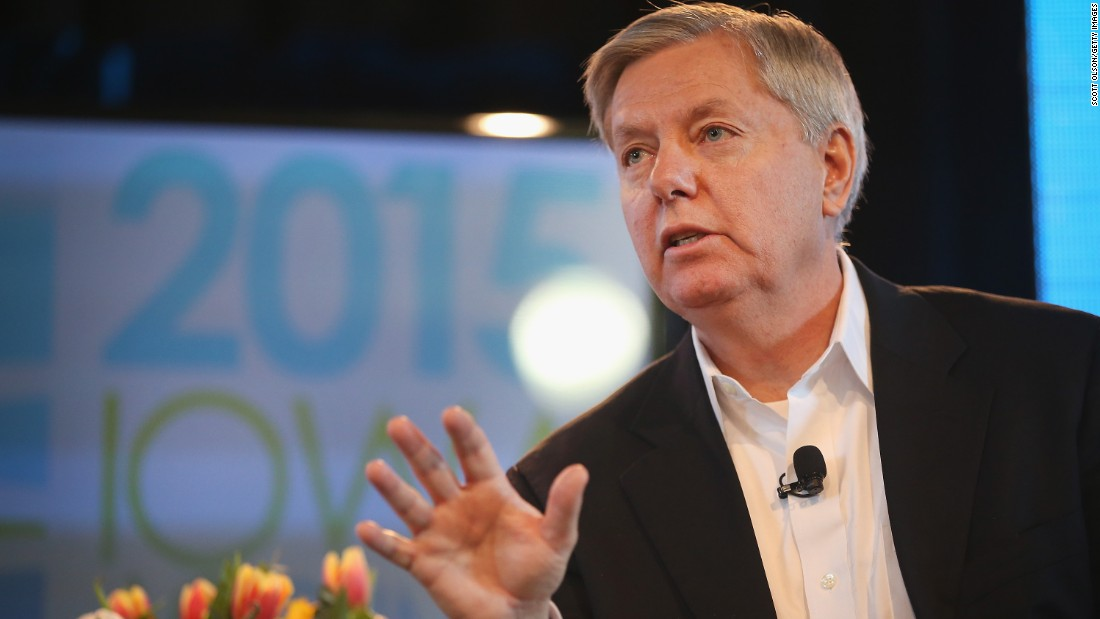 South Carolina's Lindsey Graham has said he'll make a decision surrounding a presidential run sometime soon. A potential bid could focus on Graham's foreign policy stance.