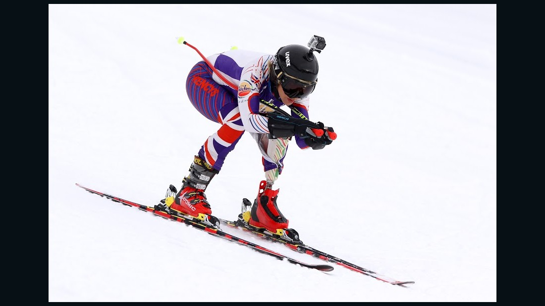Heather Mills is bidding to become the first disabled female skier to hit the 200km/h mark on a run in France.