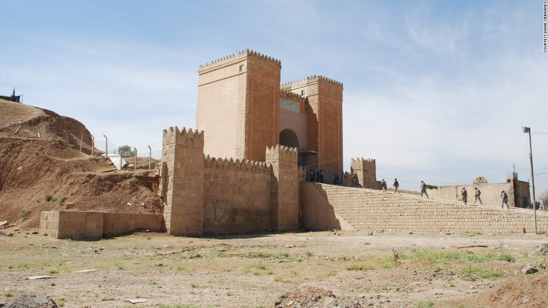 An exterior shot of Nineveh in May 2008