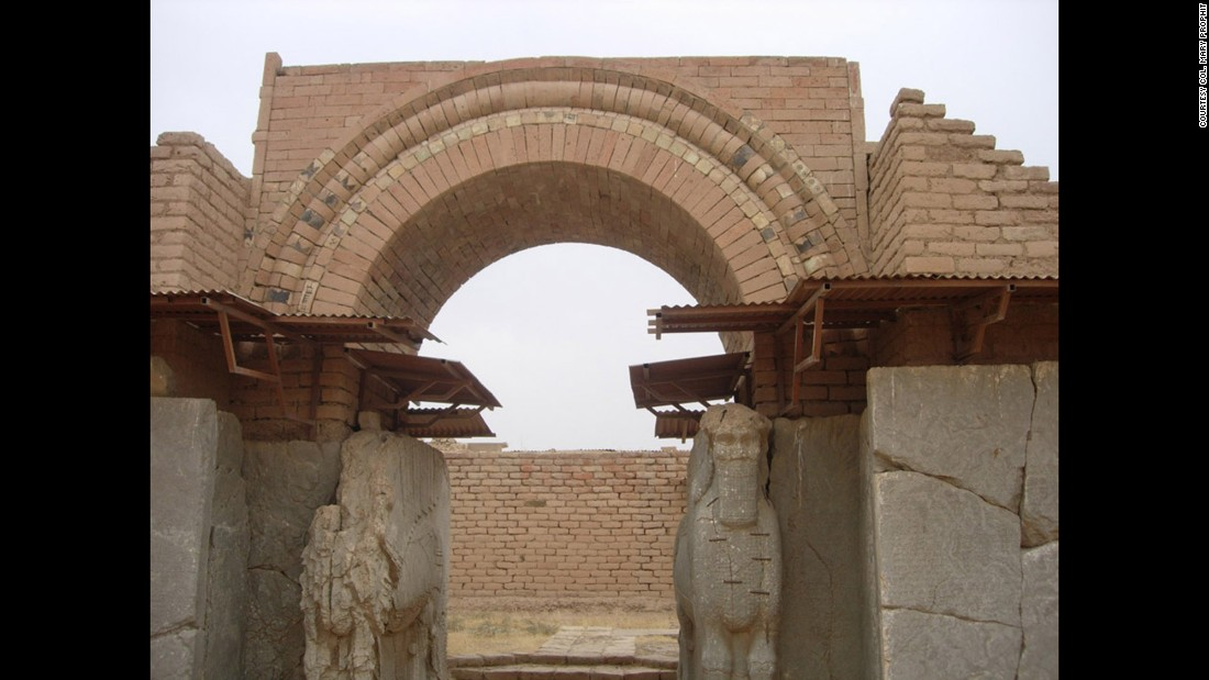 The Iraqi Ministry of Tourism and Antiquities announced in March that ISIS had bulldozed the ruins of Nimrud, seen here in 2009.
