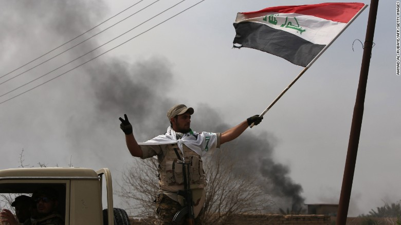 Iraqi forces take control of hospital in Tikrit