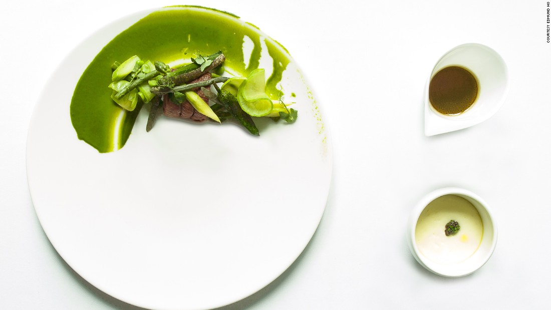 Restaurant Andre, another two-star recipient, offers reinterpreted versions of French cuisine that reflect chef-owner Andre Chiang's upbringing in Taiwan and stints in France, Shanghai and the Seychelles.