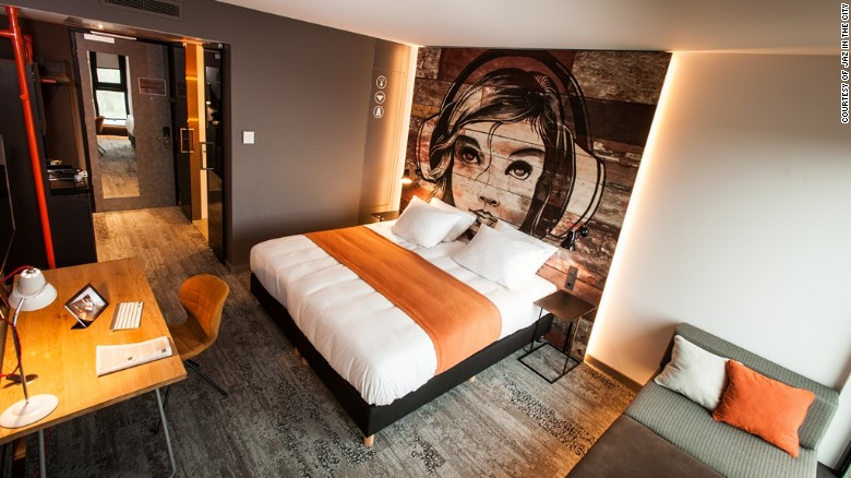 """The Jaz in the City brand from Germany's Steigenberger Hotel Group aims to offer """"hip and happening hotels"""" that """"move to the rhythm of today's curious global traveler."""" So why the odd spelling? It makes the name more trademarkable, say the pros."""