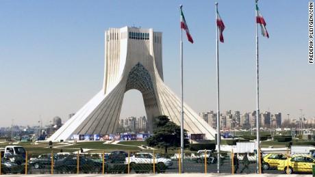 Frederik Pleitgen's trip began in Tehran, the Iranian capital, a sprawling metropolis with around 12 million inhabitants.