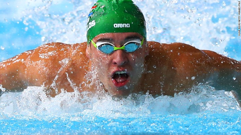 Chad le Clos: Beating Michael Phelps was 'crazy feeling'