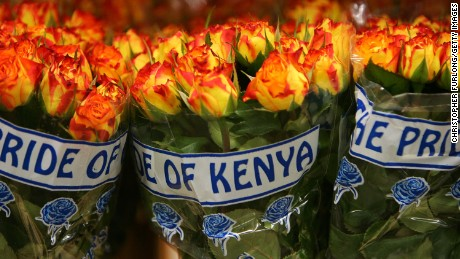 Kenyan flower sellers will have to negotiate new challenges.