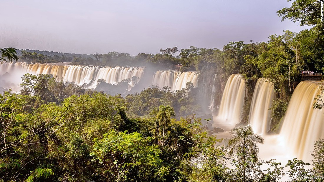 """Nothing can prepare you for the first encounter with the Iguazu Falls says Martin Ruffo of Intrepid Travel. """"As a tour leader I used to joke that the only word travelers could muster for the first couple of minutes at the falls was: Wow!"""""""