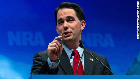 Scott Walker's career