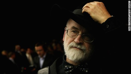 Terry Pratchet tips his hat to the press at the premier of The Colour Of Magic at the Curzon Mayfair on March 03, 2008 in London, England.