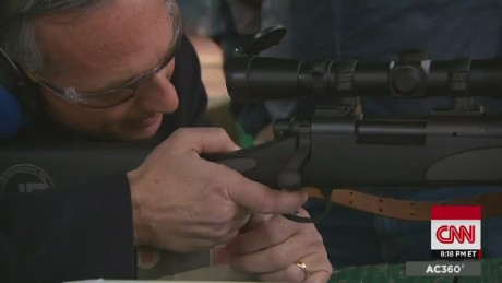ac 360 ferguson police shooting accident or targeting gary tuchman georgia gun range_00003903